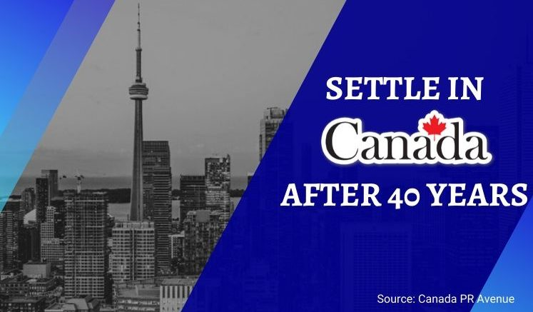 Apply for Canada after 40 years